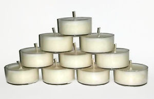 Gift Box of 12 Vegan, Tea Light,  Natural Soy Wax, Scented, Handmade, Pick your
