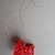 Handmade Deer - ornament for Christmas and New Year (material: polymer clay -