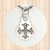 Sterling Silver Small Pendant with LVIII Cross.
