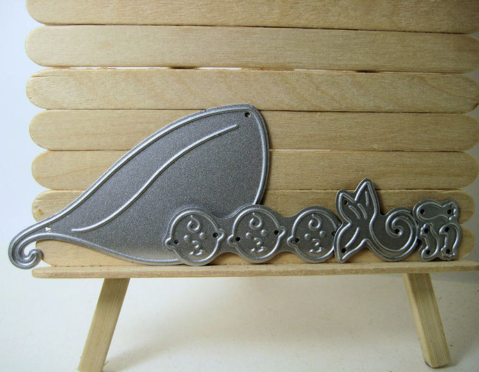 3 Babies in a Pea Pod Metal Cutting Die