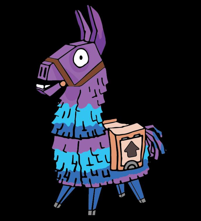 Llama Fortnite Svg Silhouette Cameo Cricut By Leestore On Zibbet