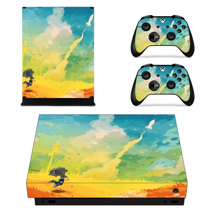 Flying rocket Xbox one X Skin