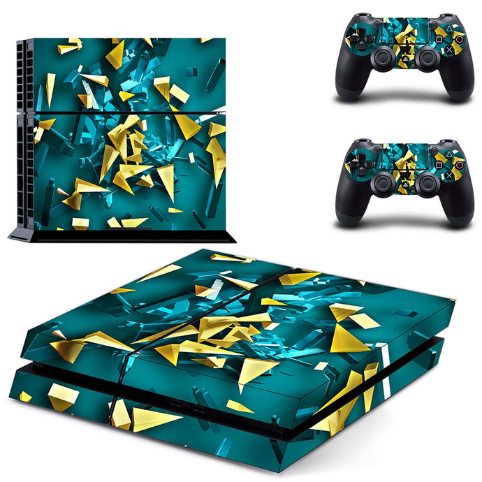 3D color PS4 Skin