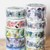 Liang Feng washi tapes - wide masking tape 10m - perfect for journaling & happy
