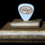 Commemorative guitar pick and display case: Merle