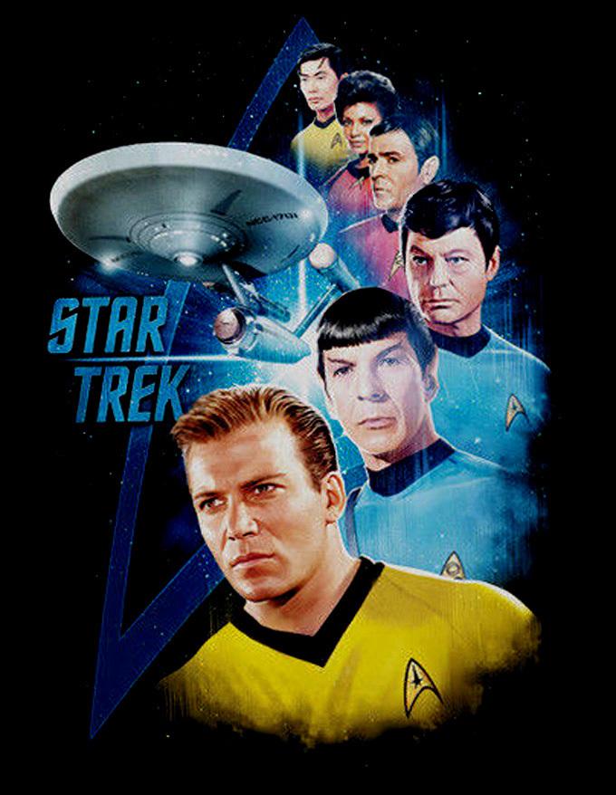 Star Trek Cross Stitch Pattern***LOOK***   ***INSTANT DOWNLOAD***