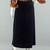 80s Long Velvet Maxi Skirt Vintage, High Waisted Midi Witchy Skirt, Black Velvet