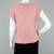 80s Short Sleeve Chunky Knit Sweater Vintage, Blush Pink Slouchy Crochet Knit