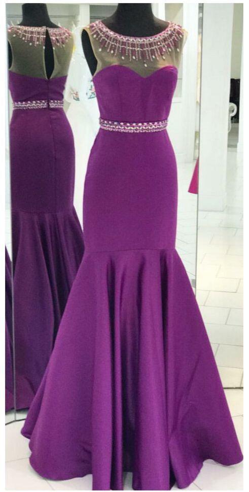 Sweetheart Sheath Slit Prom Dress,Sheer Evening Gown