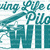 Loving Life as a Pilot's Wife Vinyl Decal Sticker Plane Helicopter Airplane
