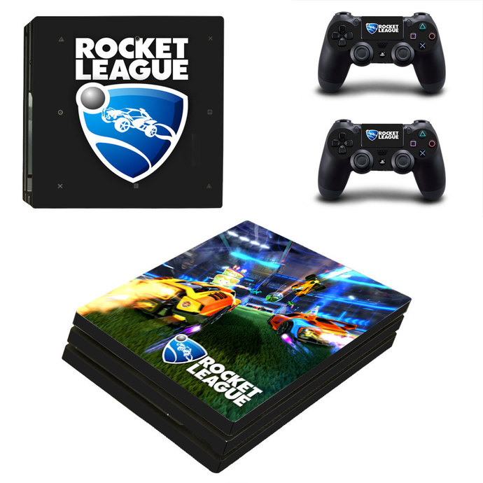 Rocket League PS4 Pro Skin for PlayStation 4 pro Console & Controllers