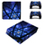 Tech wallpaper PS4 Pro Skin for PlayStation 4 pro Console & Controllers