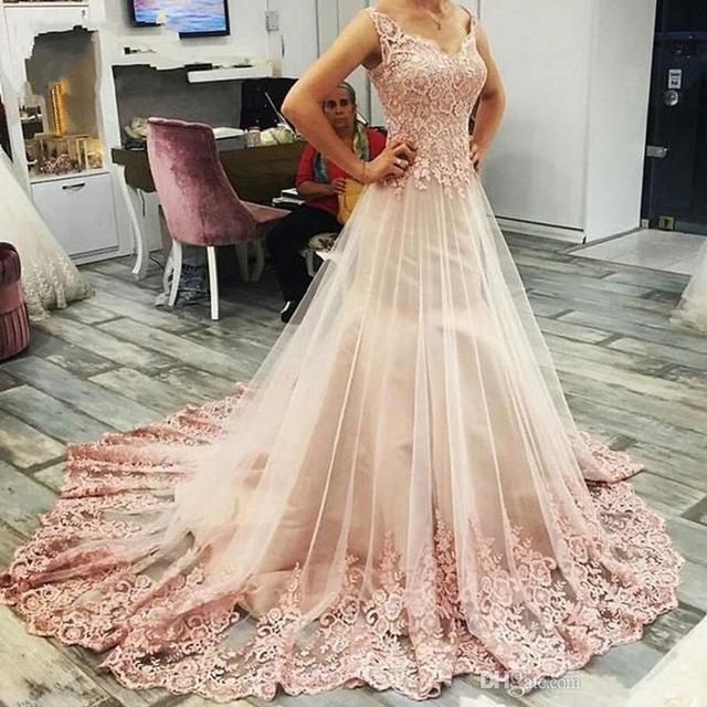 Pink Ball Gown Sweet Sleeveless Prom Dress Charming Lass