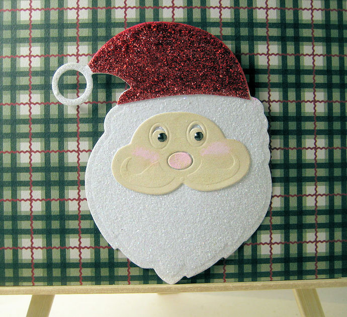 Santa Claus Face Cutting Die
