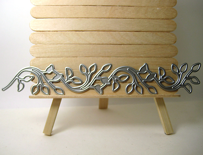 Leaf Vine Plant Life Metal Cutting Die