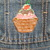 Toddler's Denim Overalls, Upcyled Hand Painted Overalls, Ice Cream Cones, Size