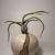 Origins unknown, little handmade vase