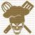 Baker Skull Vinyl Decal Sticker Whisk Spatula Bakery Baking