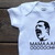 Freddie Mercury Bohemian Rhapsody Mamaaa ooooooohh Baby Bodysuit, Baby Clothing,