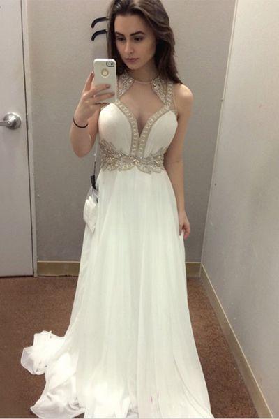 3fed948274 New Arrival Sleeveless Prom Dress