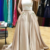 Alluring Satin Halter Neckline Two-piece A-line Prom Dress With Lace Appliques &