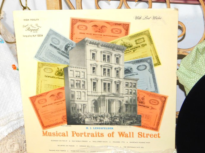 Musical Portraits Of Wall Street, H.J Lengsfelder,  Hard to Find LP, Vinyl