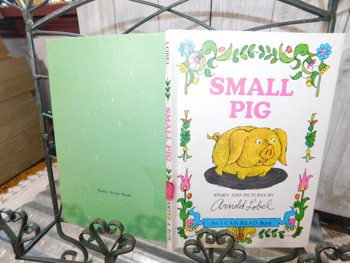 Small Pig By Arnold Lobel 1969 Childrens Book, Vintage Children Book, Hard Cover