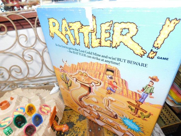 Rattler Game By Pressman, Vintage Board Game, Vintage Toys,***