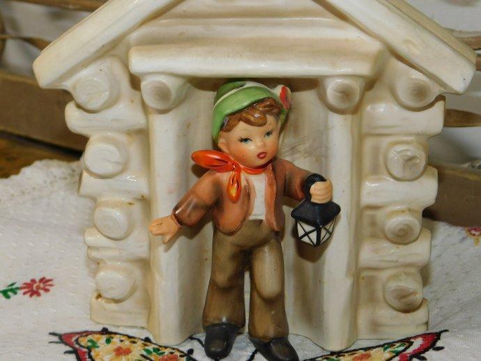 Boy George Imports JO-1/A Planter, Boy Planter, Sweet Boy Planter, Small Planter