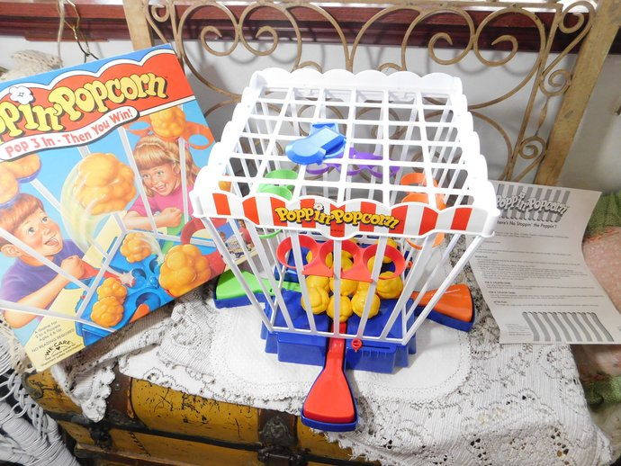 Poppin Popcorn Game by Golden, Preschooler Game, Golden Games, Toys, Vintage