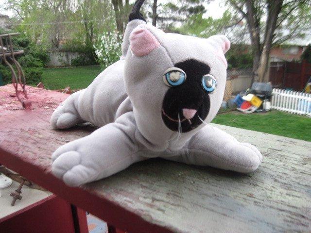 Pound Puppie Kitten/cat, Siamese  Pound Kitty By Tonka, Vintage Stuffed Animals,
