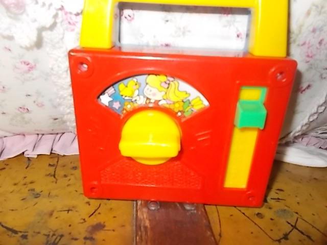 Toy Music Radio, Fisher Price Music Radio Works, Vintage Music Toy, Vintage