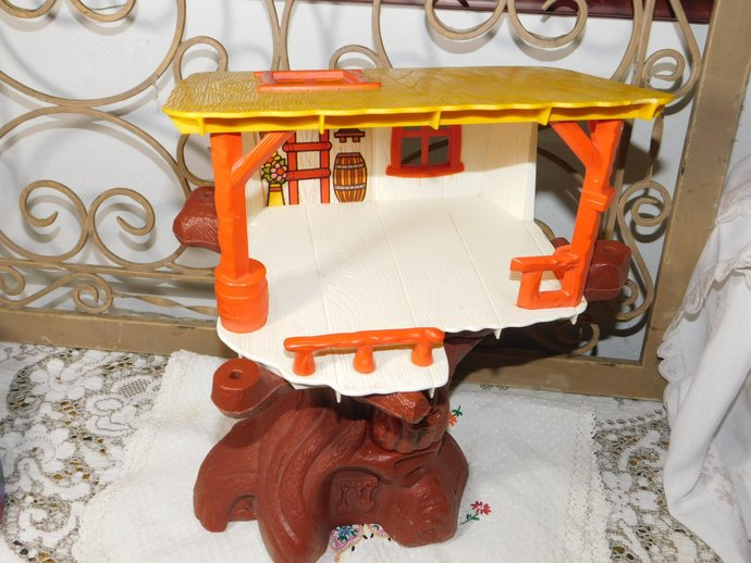 Weebles Tree House, Weebles House, Tree House Toy, Vintage Toy Tree House,