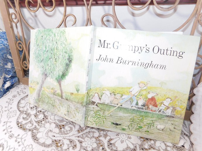 Mr Grump's Outing, By John Burningham, Vintage Childs Book, Vintage Childrens