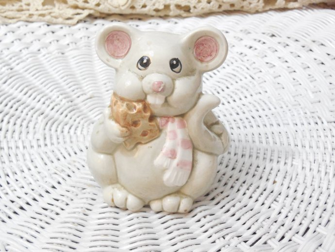 Interpur  Parmesan Cheese Shaker Mouse, Cheese Shaker, Kitchen Decor, Kitchen