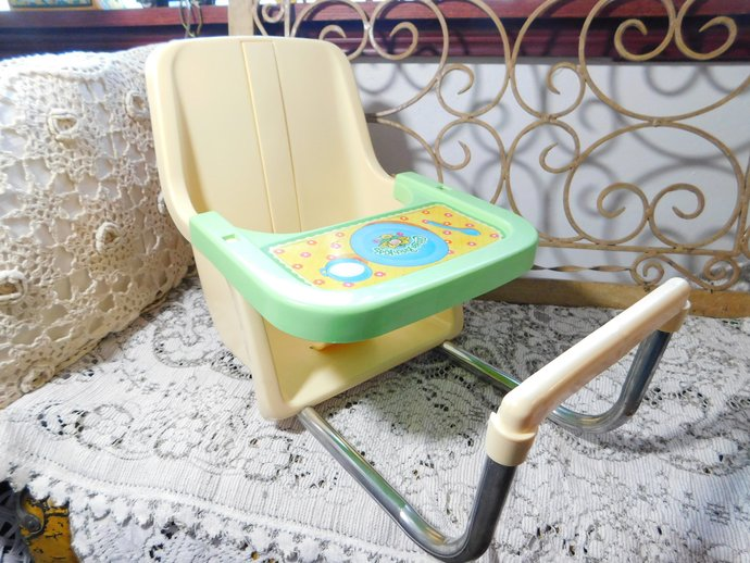 Cabbage Patch Doll High Chair 1983, Cabbage Patch Doll, Xavier Roberts, Doll
