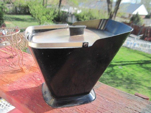 Ice Bucket, Coal Bucket Looking Ice Bucket, Ice Bucket, Barbecues, Cook Outs,