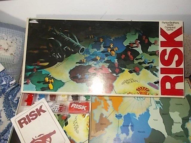 Risk Game Vintage, Vintage Board Games, Vintage War Game, War Games, conquest