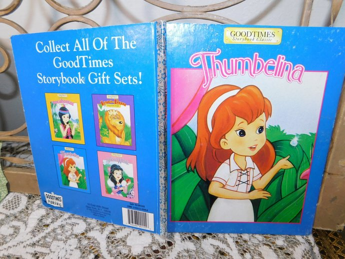 Thumbelina Good Times Storybook classic By W.S. Craig 1984, Vintage Child's