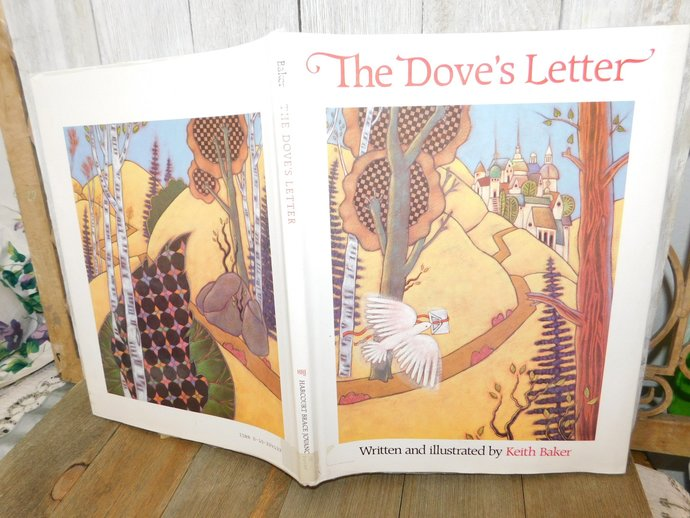The Dove's Letter, By Keith Baker 1988 First Edition Book, Vintage Children's