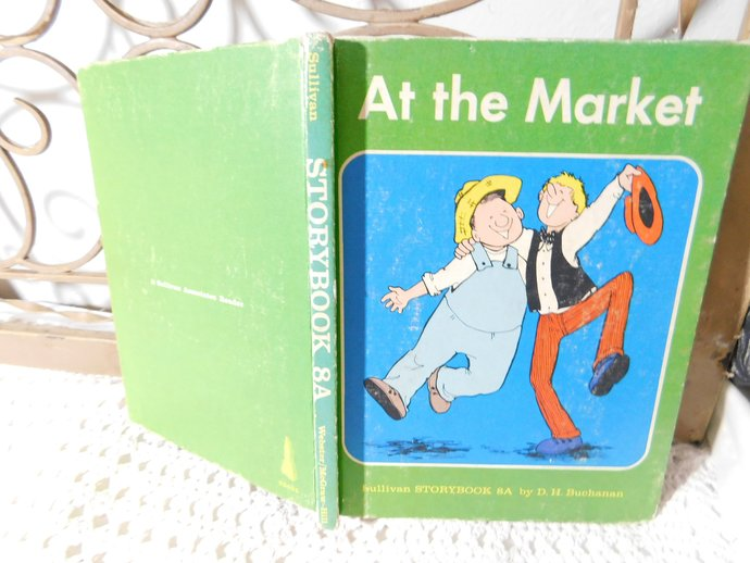 At the market Sullivan Story Book, Learning to Read Book, Home Schooling,