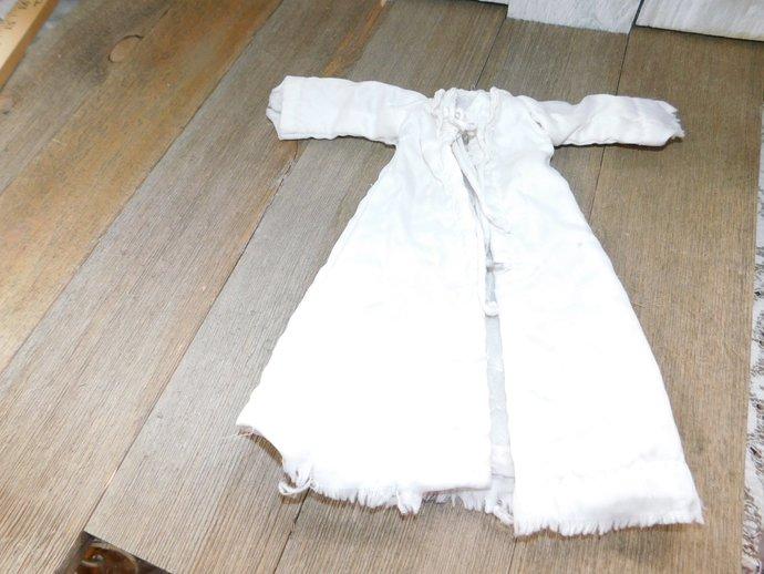 Vintage Barbie Robe, White Barbie Robe, Vintage Doll Robe, Vintage Doll Clothes,