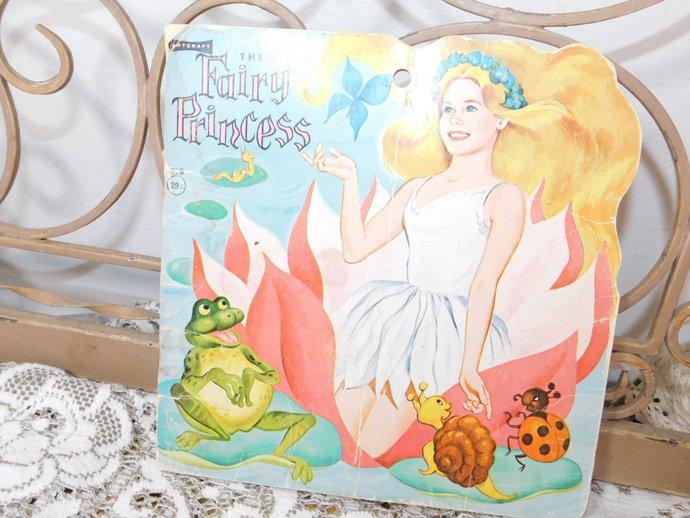 The Fairy Princess, The Saalfield publishing company 1966 Art Craft, Vintage