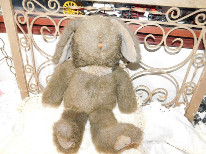 Bunny, Rabbit Mary Meyers, Town Shend Finer Stuffed Toys, Stuffed Rabbit,