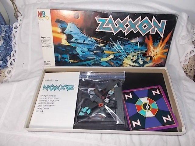 Zaxxon Board Game Sega Enterprises 1982, Vintage Board Game, Board Games, Space