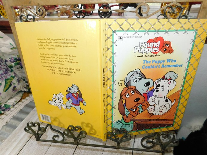 Pound Puppies Lovable Huggable The Puppy Who Could Not Remember, Pound Puppies,