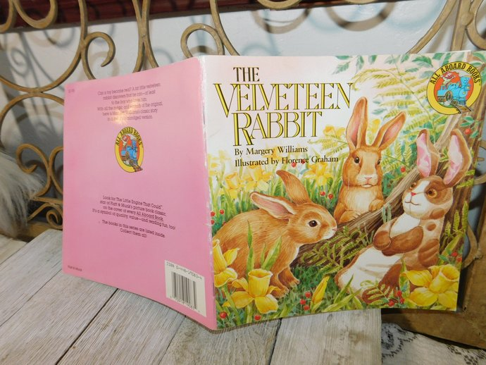The Velveteen Rabbit paper Back Book 1987, by Margery Williams , Vintage