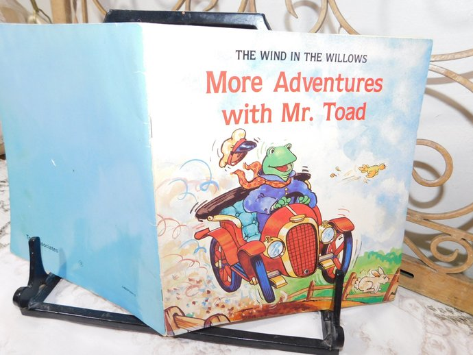 More Adventures with Mr Toad 1982, Vintage Children's Book, Paper back Book,