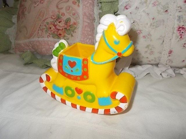 Peppermint  Doll Rocking Horse Yellow Playskool, Doll Rocking horse, Rocking