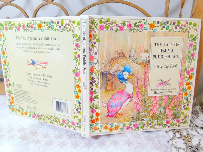 The Tale Of Jemima Puddle Duck Pop Up Book Beatrix Potter 1987, Children's